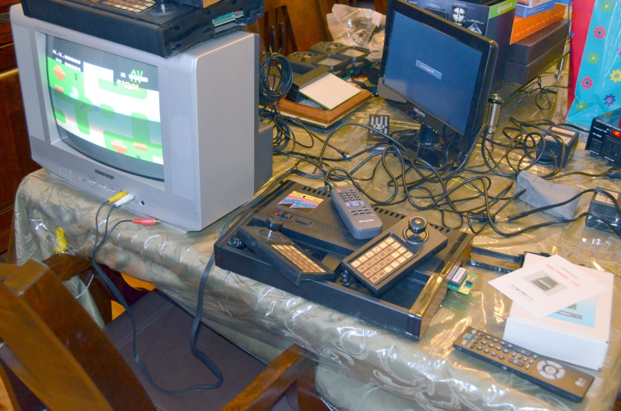 Recent homebrews for MSX, ColecoVision, Intellivision, CreatiVision, Dragon, Turbo-Grafx/16, Vectrex