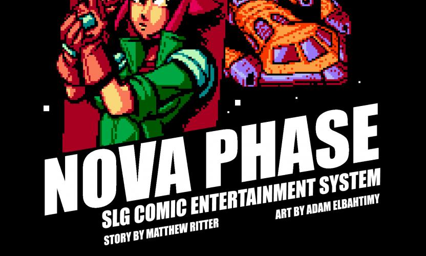Nova Phase, a new digital comic inspired by 16-bit videogames