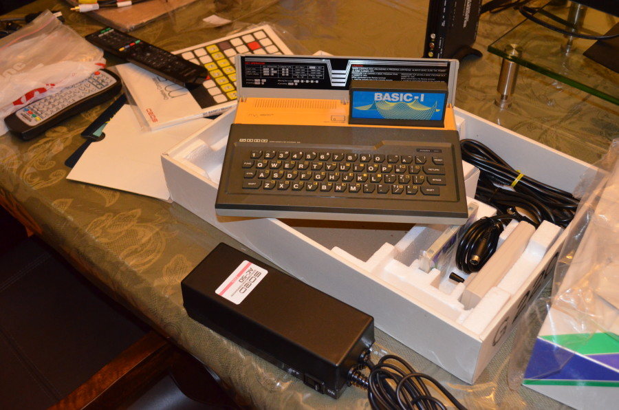 Sord M5, XRGB-mini Framemeister, and Commodore 1084S-P