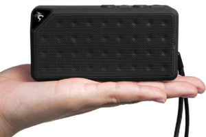 The Sentey B-Trek S2 Bluetooth speaker is small!