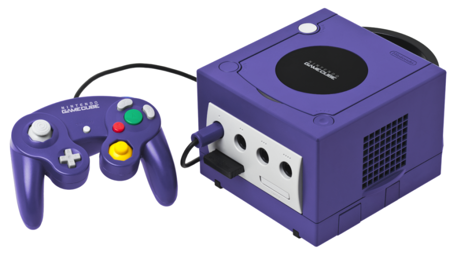 Image by Evan-Amos. Source: https://en.wikipedia.org/wiki/GameCube#/media/File:GameCube-Console-Set.png
