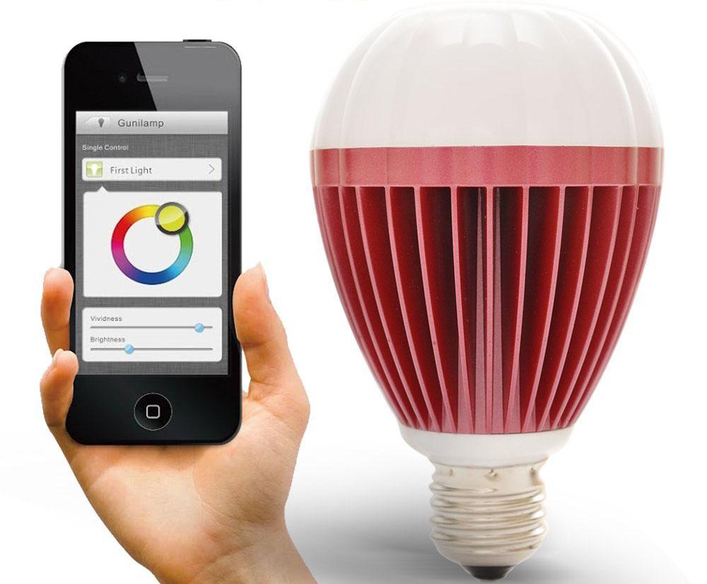 Review Gunilamp Bluetooth Led Smart Light Bulb Armchair Arcade