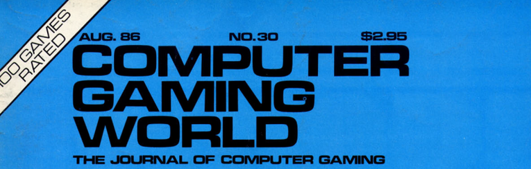Magazine Hindsight (001) : Computer Gaming World, 08/1986