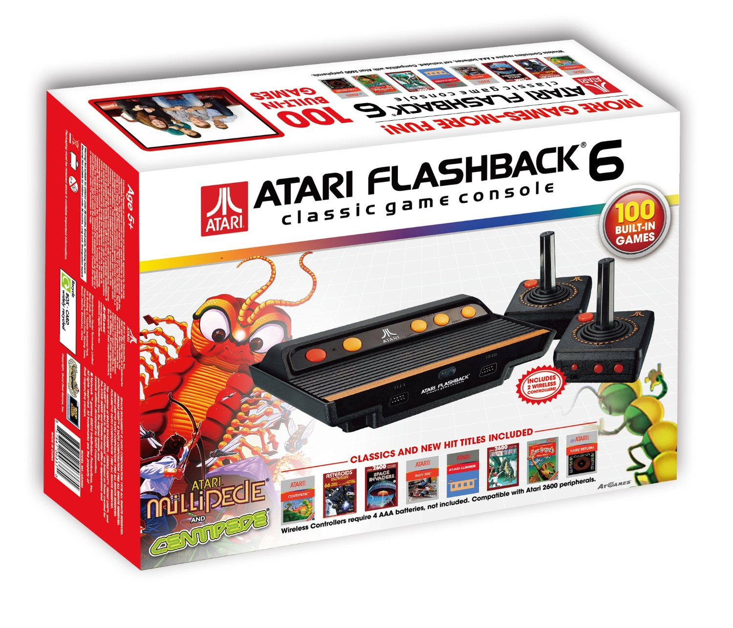 Atari Flashback 6 The Official Game List