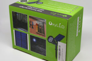 Review: OxyLED E03S LED Solar Spotlight