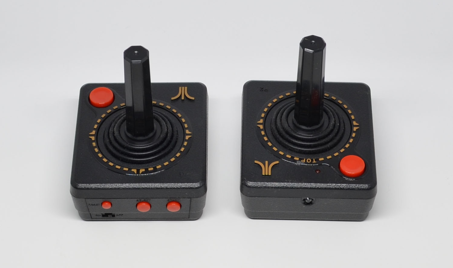 The included controllers.