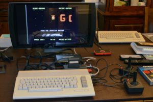 Gorf with Magic Voice on the Commodore 64