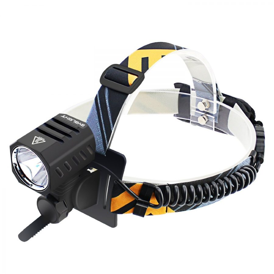 BYB Professional Series CREE T6 LED USB Headlamp