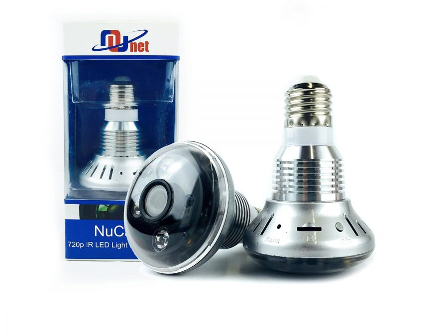 NuCam 720p Light Bulb Camera with Night Vision