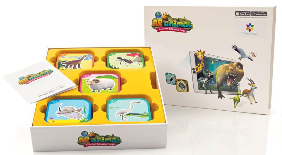 Think in Toys AR Animal Educational Game