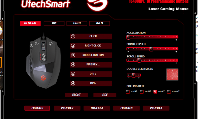 Giveaway: UtechSmart Venus MMO Gaming Mouse