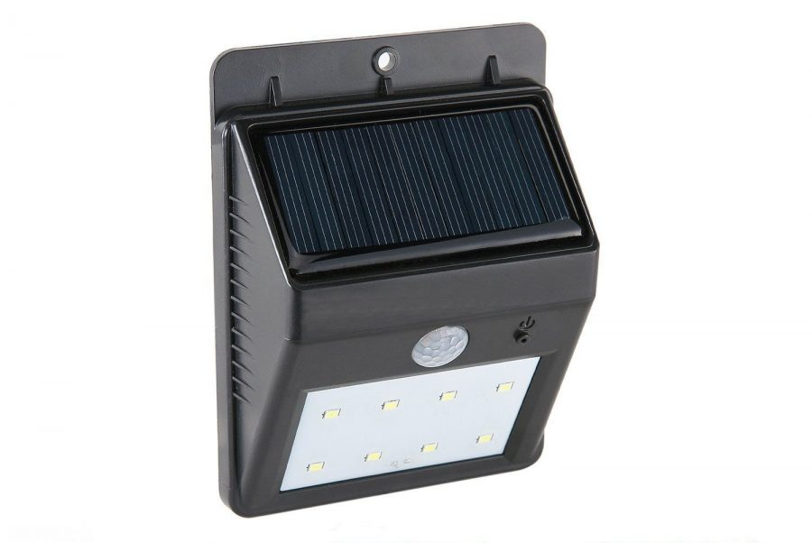 Syhonic 8 LED Solar Powered Garden Light