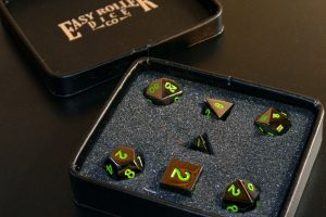 Easy Roller Dice Co. Gaming Dice, Four Different Varieties