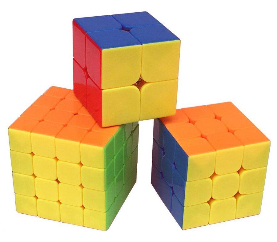 DOLAIMI Smooth Magic Cube 3 Pack