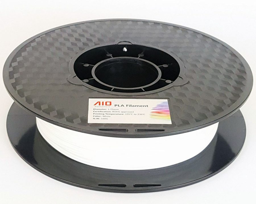 AIO Robotics AIOWHITE PLA 3D Printer Filament