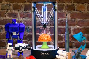 First Look: Delta Go Desktop 3D Printer