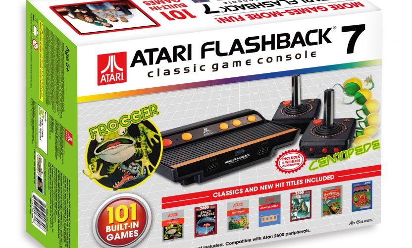 Review: Atari Flashback 7 (AtGames, 2016 version) (includes videos)