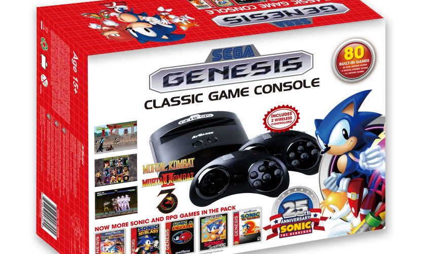 Sega Genesis Classic Game Console (2016): The Official Game List