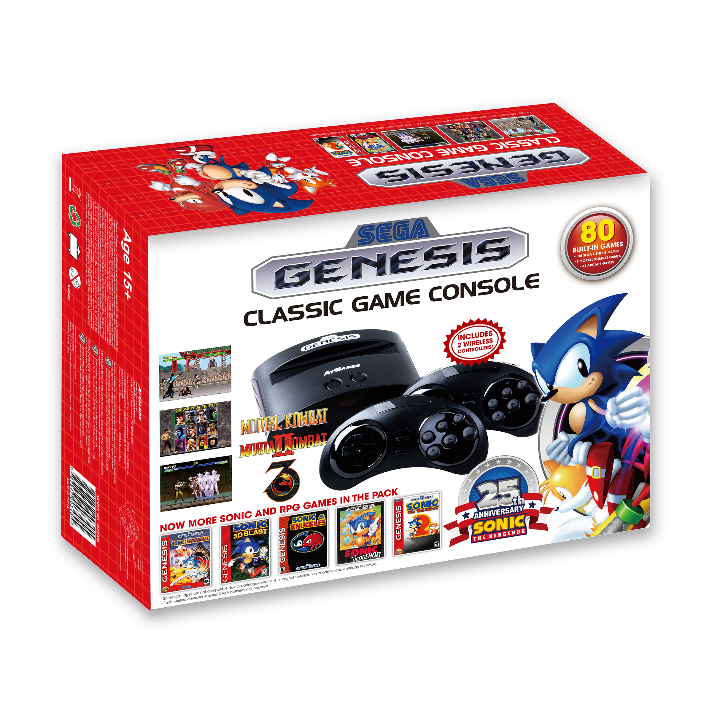 Sega Genesis Classic Game Console 2016 The Official