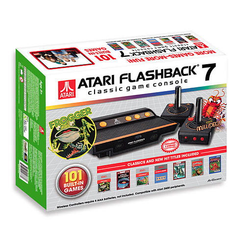 Atari Flashback 7 (2016): The Official Game List