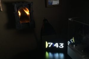 Pac-Man LED Clock and Infinite Dungeon