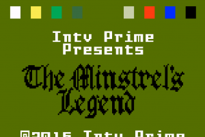 News: The Minstrel's Legend – Persistent World RPG in Development for Mattel Intellivision!