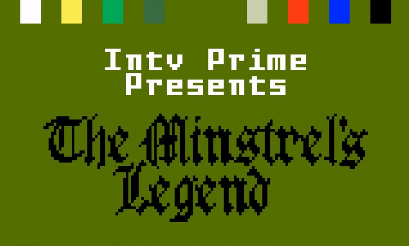News: The Minstrel's Legend – Persistent World RPG in Development for Mattel Intellivision!
