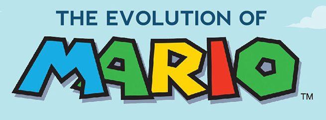 Infographic: The Evolution of Mario