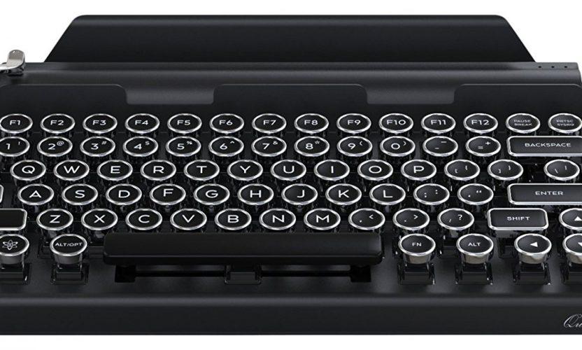 Review: Qwerkywriter Bluetooth Typewriter Keyboard