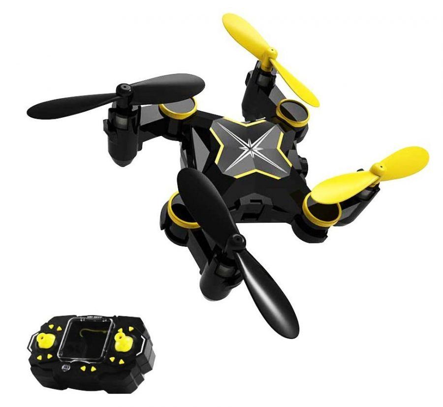 Taotuo Mini Foldable RC Quadcopter Drone with 2.4G 4 Channel 6-Axis Gyro Headless System