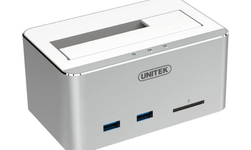 Review: Unitek Aluminum USB 3.0 to SATA Hard Drive Docking Station with USB and SD Card Reader