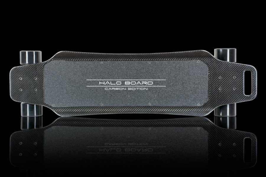 The all new Halo Board Carbon Fiber Electric Skateboard – Better than a Hoverboard?