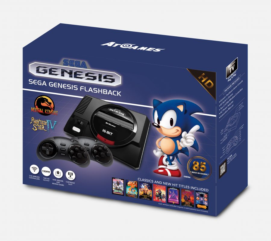 Press Release: AtGames Announces Fall 2017 Sega Genesis Classic Gaming Hardware Lineup