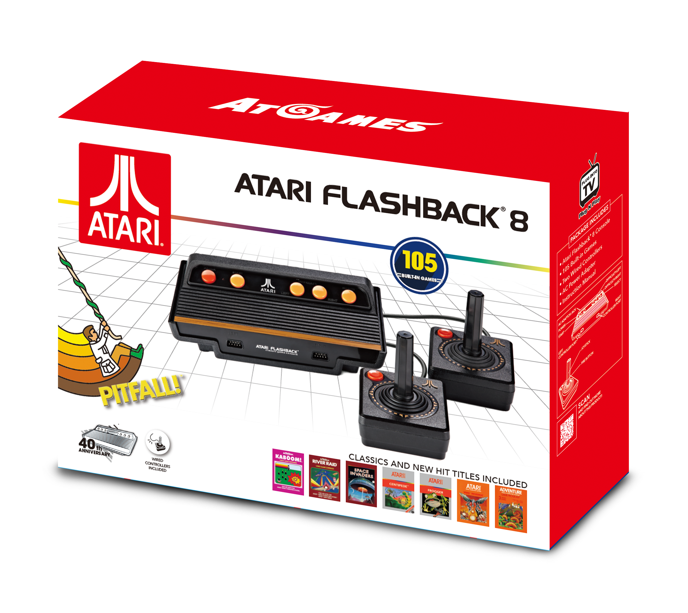Atari flashback 8 classic game console 2017 the - Atari flashback classic game console game list ...