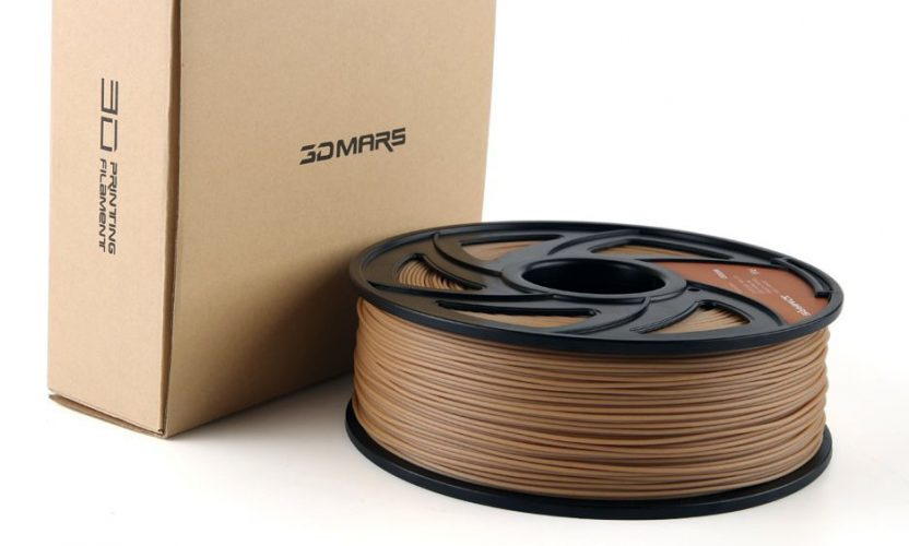 Review: 3D MARS Wood-infused PLA 3D Printing Filament