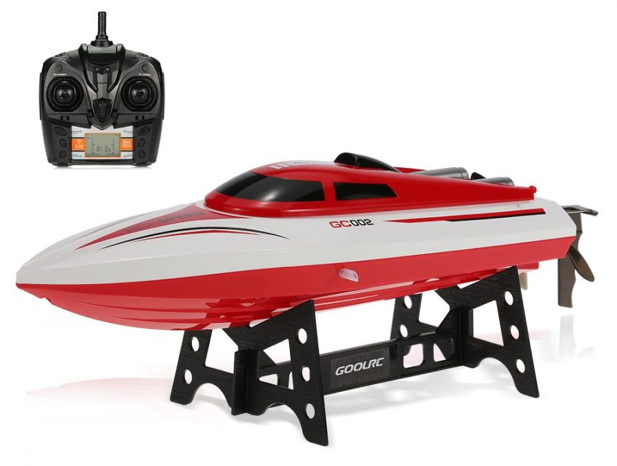 GoolRC GC002 2.4G Remote Control Flip 20 KM/H High Speed Electric RC Racing Boat