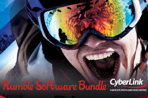 Pay what you want for video & photo editing software from CyberLink - Humble Bundle!