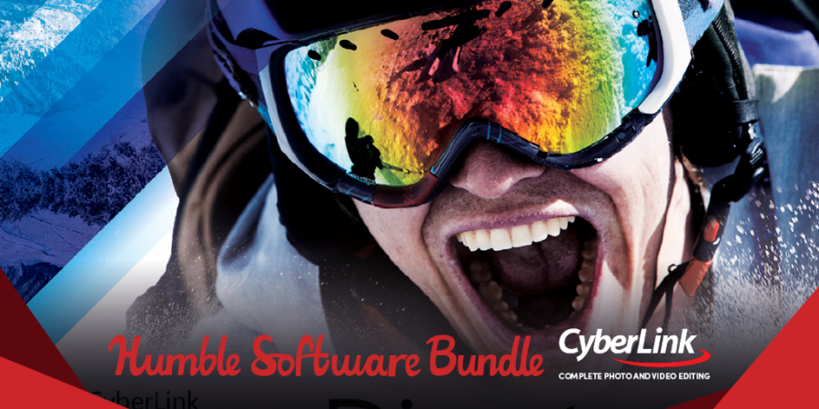 Pay what you want for video & photo editing software from CyberLink – Humble Bundle!