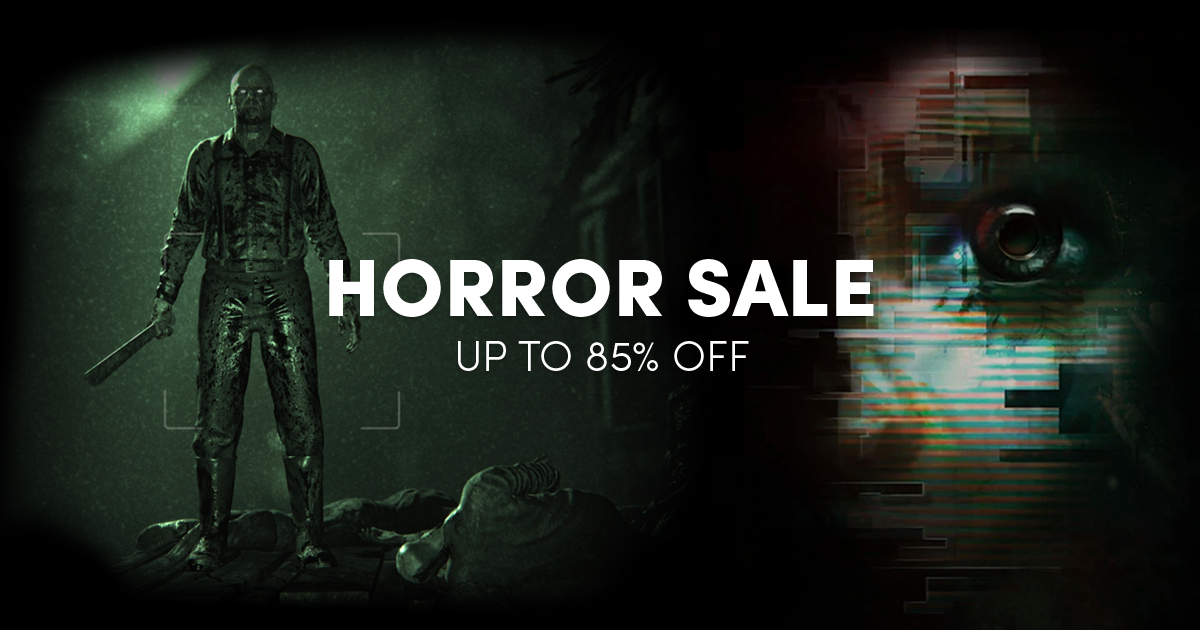 Up to 85% off horror games on Steam for PC, Mac, and Linux