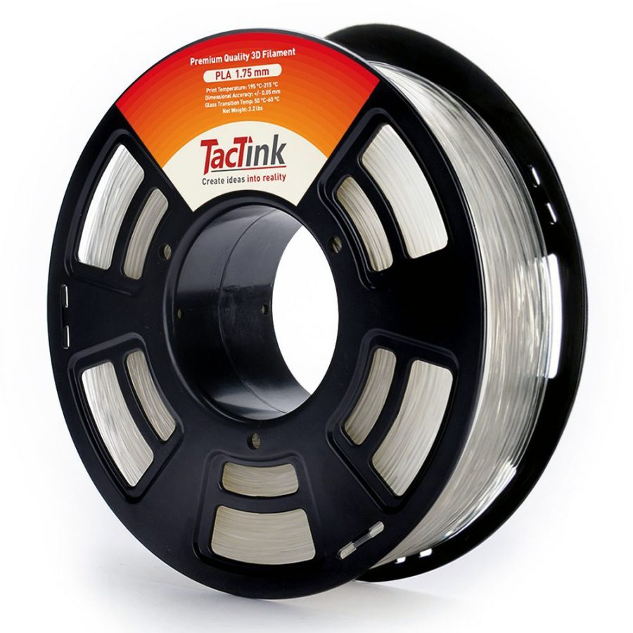 Tactink Clear PLA 1.75mm 3D Printer Filament