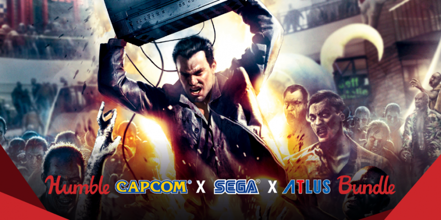 Name your own price Humble Capcom X SEGA X ATLUS Bundle!