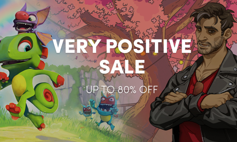 The Humble Store Very Positive Sale is Live!