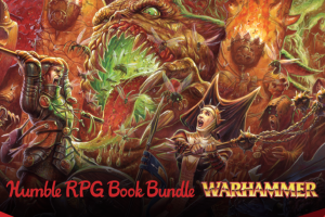 Name your own price Humble RPG Book Bundle: Warhammer