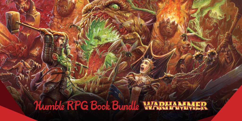 Name Your Own Price Humble Rpg Book Bundle Warhammer