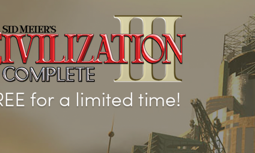 SID MEIER'S CIVILIZATION III: COMPLETE free for a limited time!
