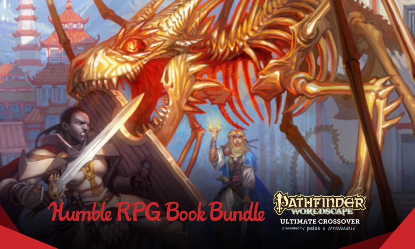 Pay your own price Humble RPG Book Bundle: Pathfinder Worldscape Ultimate Crossover