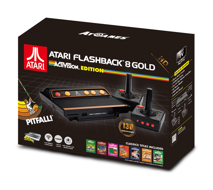 The Activision Edition of the Atari Flashback 8 Gold is now available!