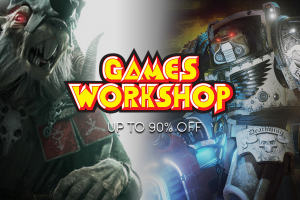The Games Workshop Sale - Up to 90% off great PC games!