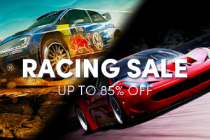 Racing game sale – up to 85% off!