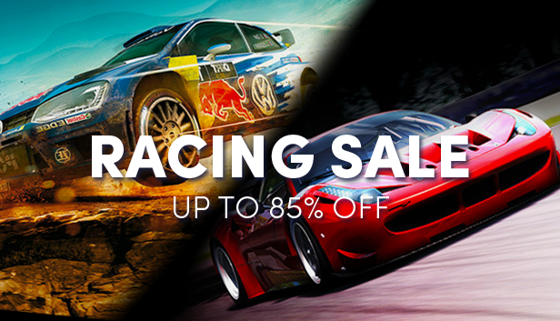 Racing game sale - up to 85% off!